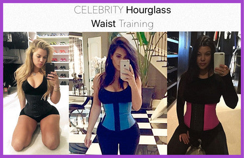 Celebrity Hourglass Waist Training