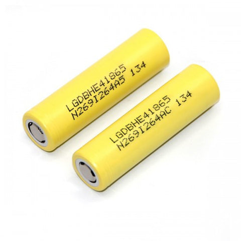 LG HE4 2500mah High Discharge 2 Pack