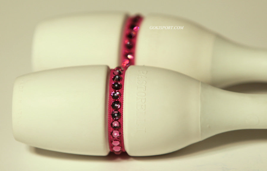 Club Crystals, Fuchsia made with Swarovski Crystal Pink, Style: GS384