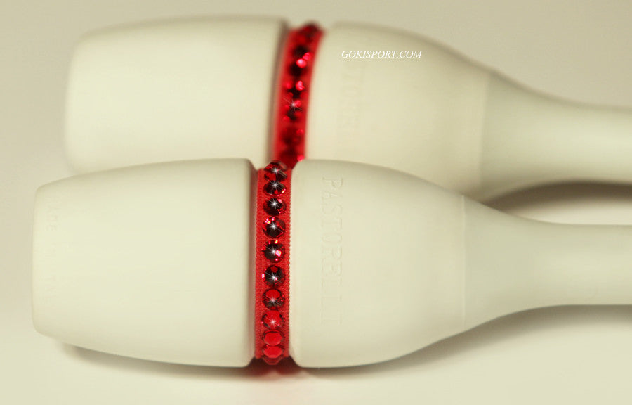 Club Crystals, Red made with Swarovski Crystal Red, Style: GS385
