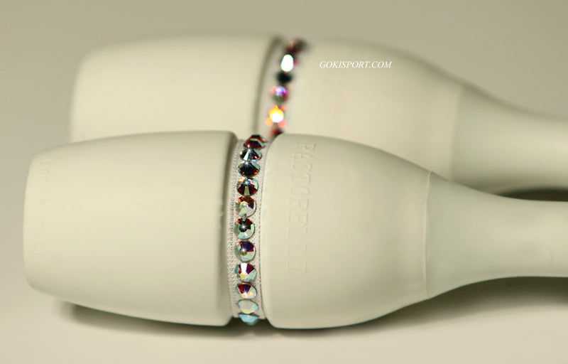 Club Crystals, White made with Swarovski Crystal AB, Style: GS118