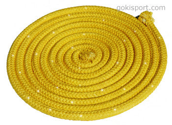 GOKISPORT Cotton Ropes made with SWAROVSKI CRYSTALS, - Yellow, Style: GS091