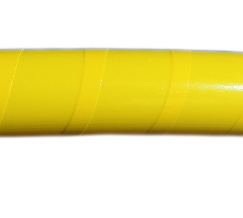 PRIMA HOOP wrapped with 1-color Fluorescent Yellow tape, Style: GS315FLUY