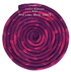 GOKISPORT Cotton Multicolor Collection, Fuchsia-Lilac, Style: GS072