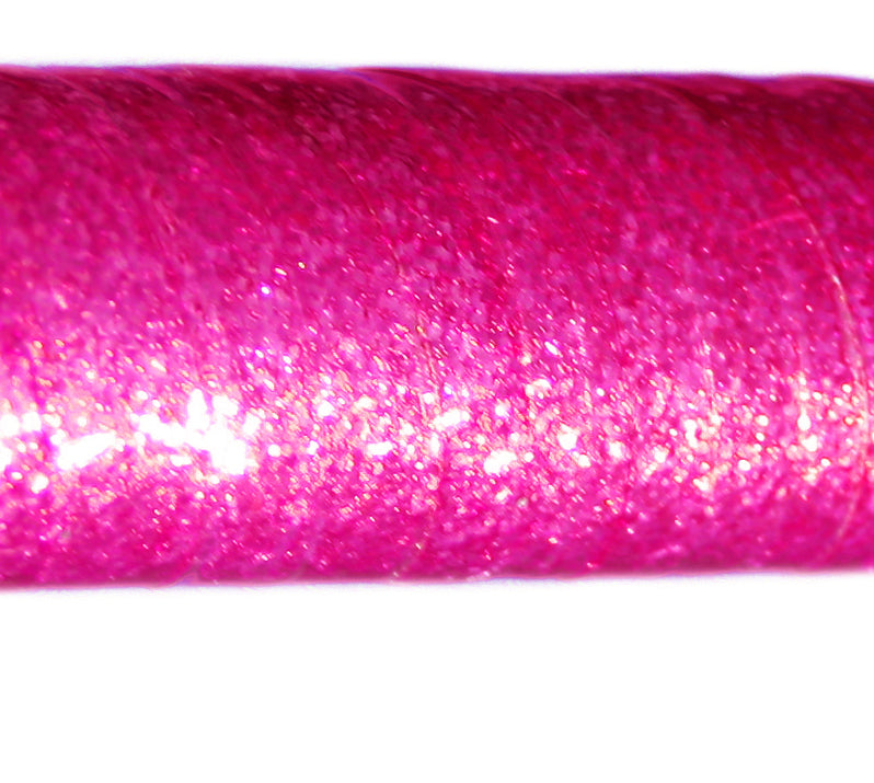 PRIMA HOOP wrapped with 1-color Glitter Fuchsia tape, Style: GS311GF