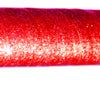 PRIMA HOOP wrapped with 1-color Glitter Red tape, Style: GS311GR