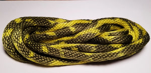 GOKISPORT Nylon Glamour Multicolor Rope, Fluorescent Yellow-Oil Green, Style: GS325