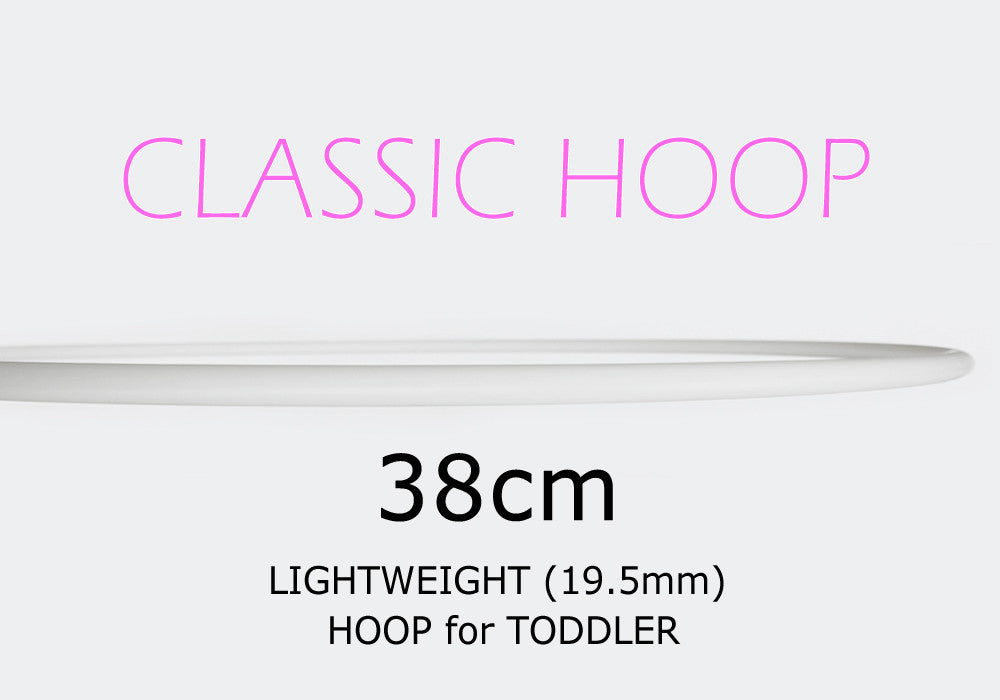 38cm CLASSIC Hoops - Toddlers, Style: GS356