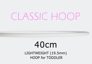 40cm CLASSIC Hoops - Toddlers, Style: GS357