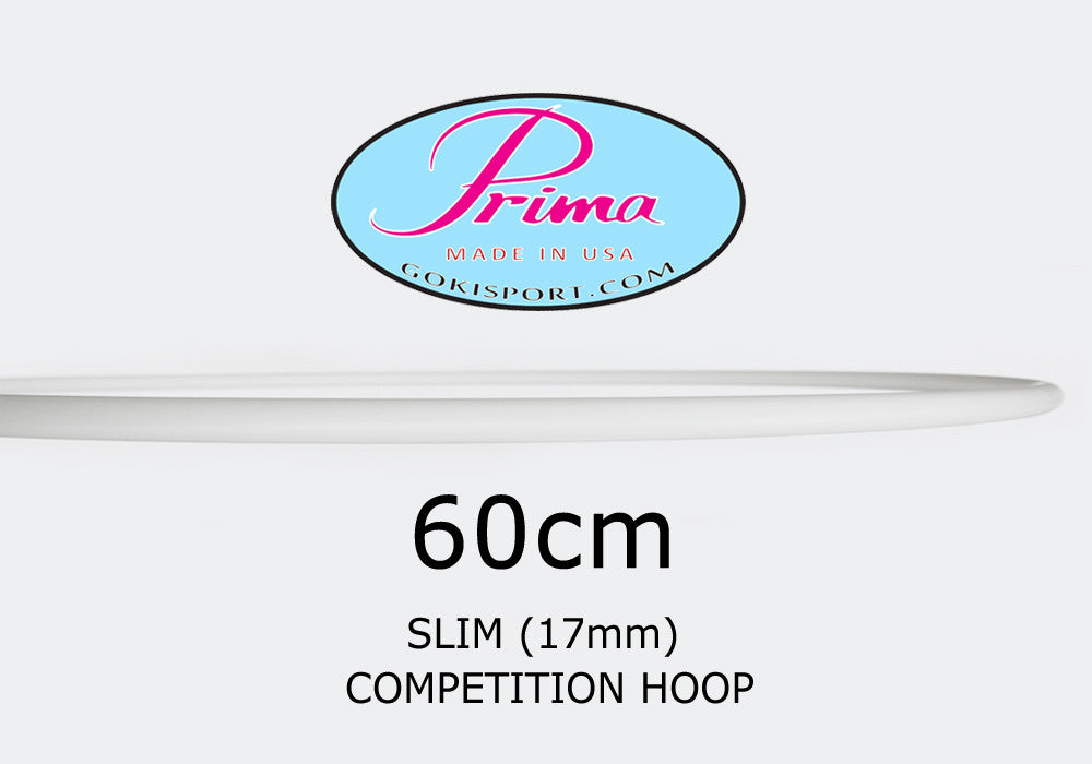 60cm PRIMA Slim Profile Hoops - Juniors, Style: GS300