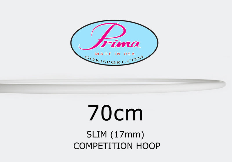 70cm PRIMA Slim Profile Hoops - Juniors, Style: GS302