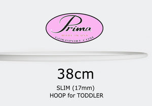 38cm PRIMA Slim Profile Hoops - Toddlers, Style: GS350