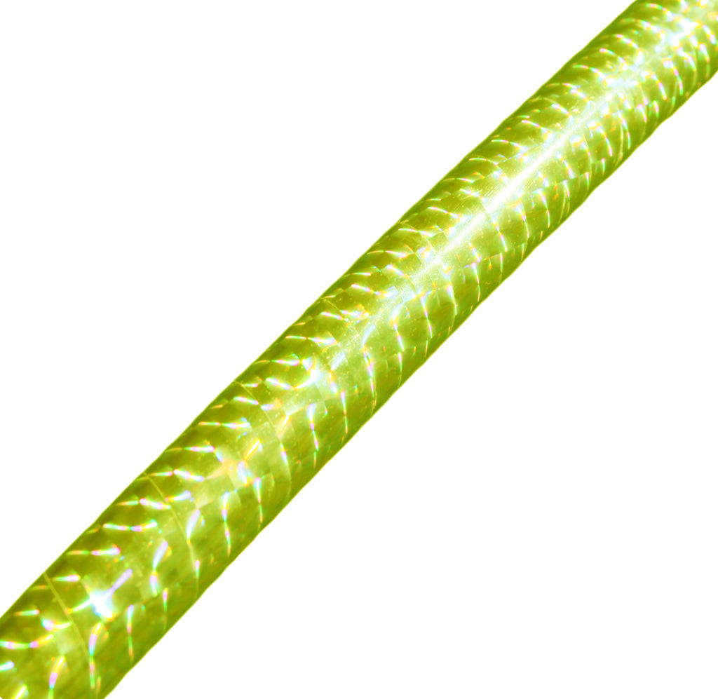 PRIMA HOOP wrapped with 1-color Prismatic Fluo Yellow tape, Style: GS314PFY