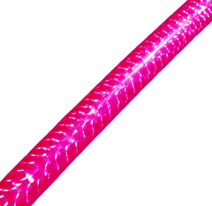 PRIMA HOOP wrapped with 1-color Prismatic Fuchsia tape, Style: GS314PF