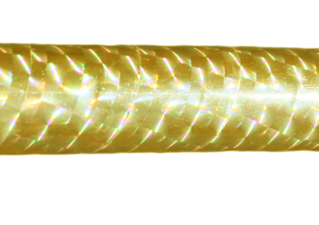 PRIMA HOOP wrapped with 1-color Prismatic Gold tape, Style: GS314PG