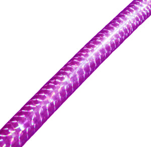 PRIMA HOOP wrapped with 1-color Prismatic Lilac tape, Style: GS314PL