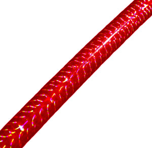 PRIMA HOOP wrapped with 1-color Prismatic Red tape, Style: GS314PR