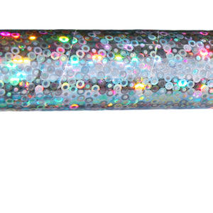 PRIMA HOOP wrapped with 1-color Holographic Silver Hoopios tape, Style: GS310HSH