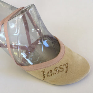 Jassy Toe Shoes/ Pirouette Shoes, Beige, Style: BGE-MS02GL