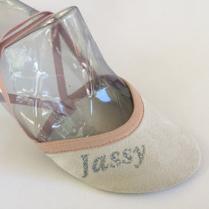 Jassy Toe Shoes/ Pirouette Shoes, Beige, Style: BSQ-MS02SL