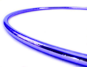 PRIMA HOOP wrapped with 1-color Mirror Blue tape, Style: GS312MB
