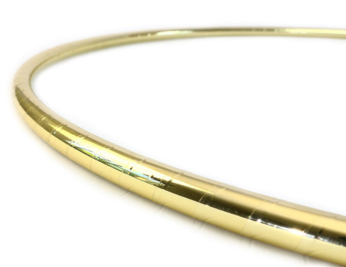 PRIMA HOOP wrapped with 1-color Mirror Gold tape, Style: GS312MG