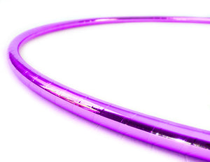 PRIMA HOOP wrapped with 1-color Mirror Lilac tape, Style: GS312ML