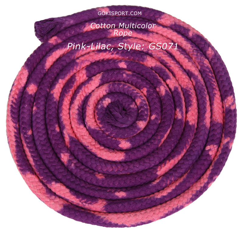 GOKISPORT Cotton Multicolor Collection, Pink-Lilac, Style: GS071