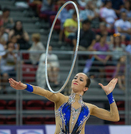PRIMA HOOP wrapped with tape, World Championships Edition 2015, Prismatic Silver Hoop, Style: GS399