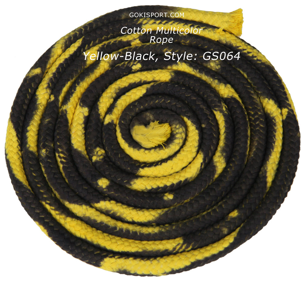 GOKISPORT Cotton Multicolor Collection, Yellow-Black, Style: GS064