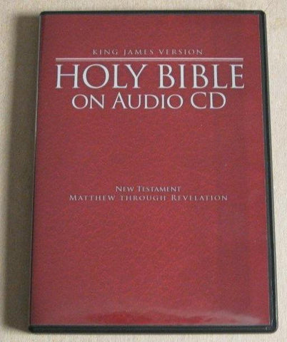 New Testament on CD