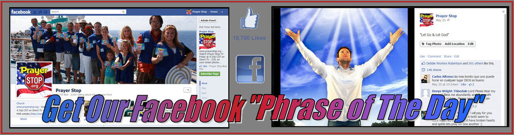 Like Prayer Stop on Facebook