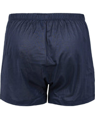HANRO Cotton Sporty Boxer Midnight Navy,Underwear,HANRO, | GentRow.com