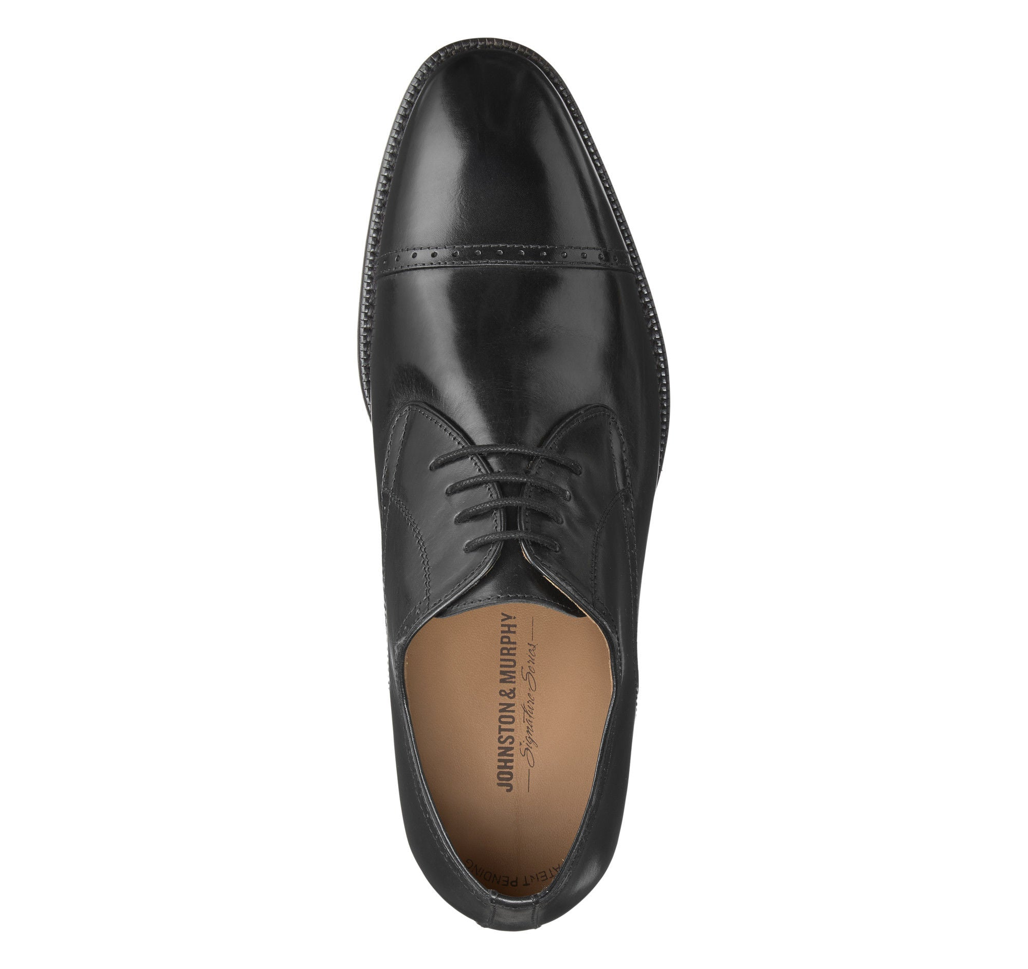 Barton Cap Toe,SHOES,Johnston & Murphy, | GentRow.com