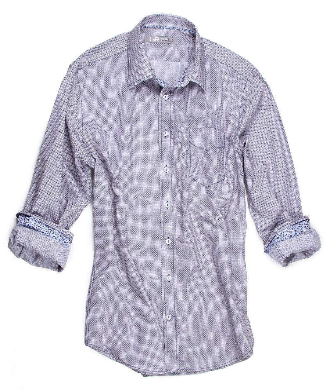 CLIFTON 16060-038 LONG SLEEVES,SPORT SHIRT,GEORG ROTH, | GentRow.com