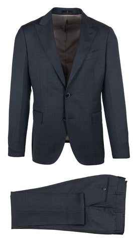 Charcoal Peak Lapel Suit