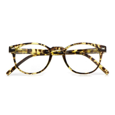 Kennedy Golden Tortoise Reading Glasses