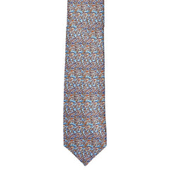 Printed Art Abstract Silk Tie,TIE,SILVIO FIORELLO, | GentRow.com