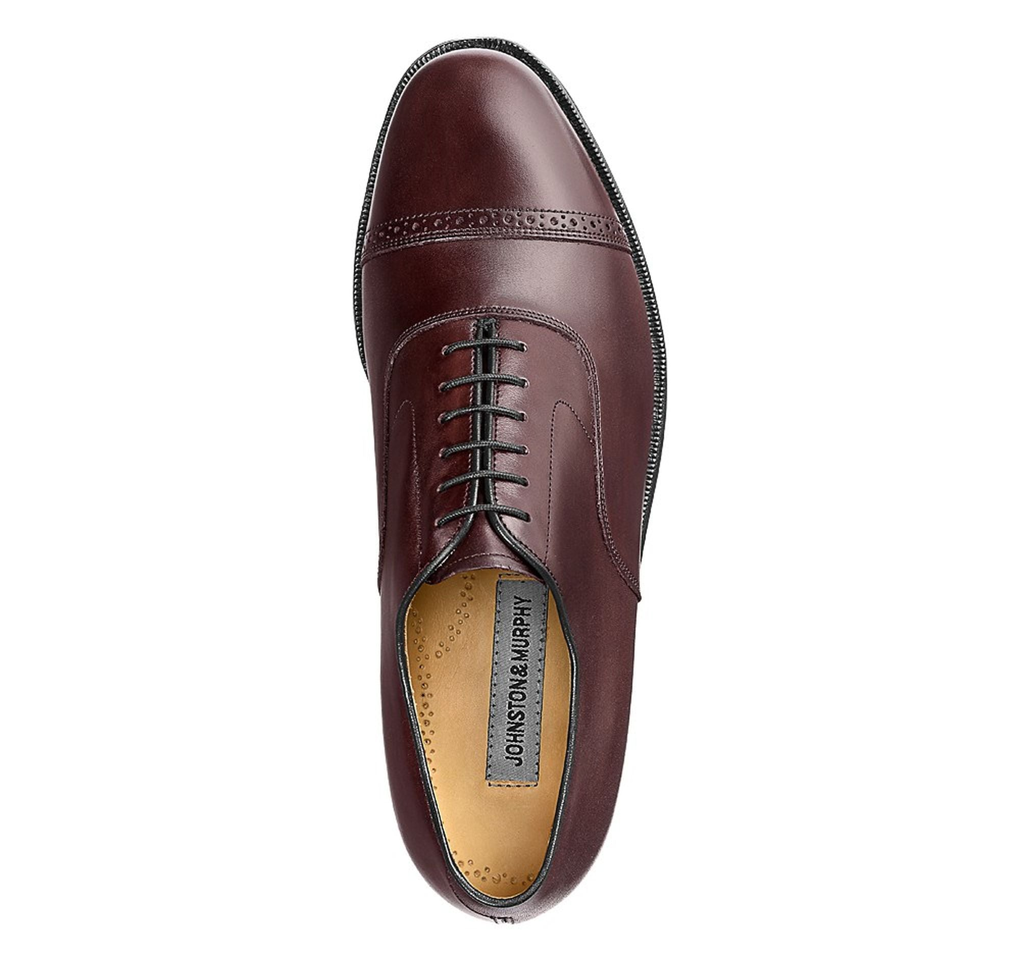 Aldrich II Cap Toe,SHOES,Johnston & Murphy, | GentRow.com
