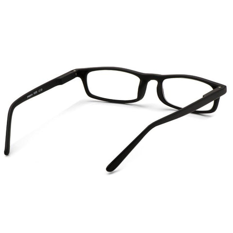 Sign On The Line Matte Black Reading Glasses