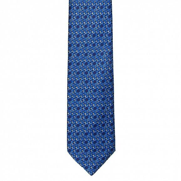 GEOMETRIC ABSTRACT PRINTED SILK TIE 8.5CM,TIE,SILVIO FIORELLO, | GentRow.com