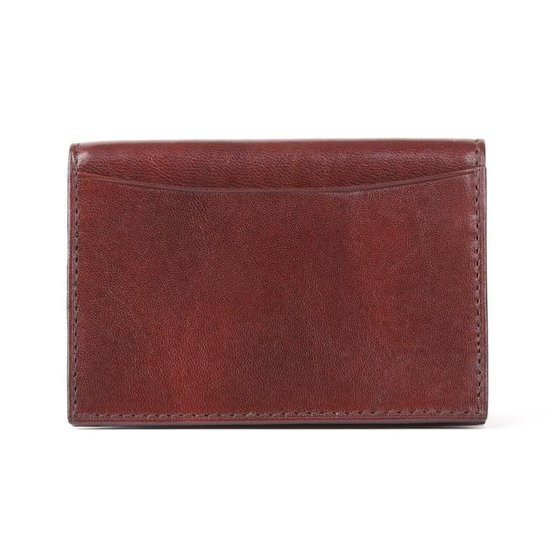 Dark Brown Old Leather Classic Full Gusset, 2 PKT Card Case,CARD CASE,GentRow.com, | GentRow.com