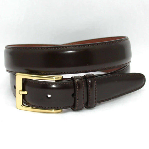 Antigua Leather Belt - Brown