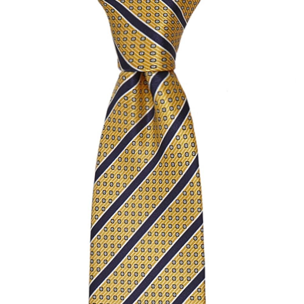 Printed Stripes Micro Design Silk Tie 8.5cm,TIE,SILVIO FIORELLO, | GentRow.com
