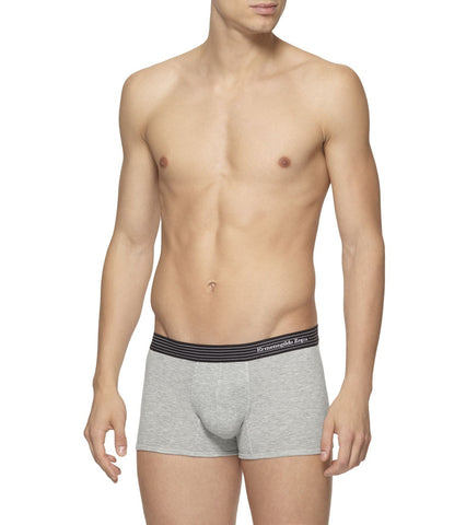 Gray Cotton Trunks