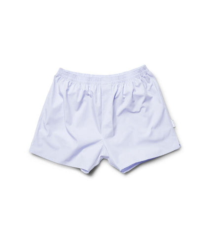 Light Blue Cotton Boxers