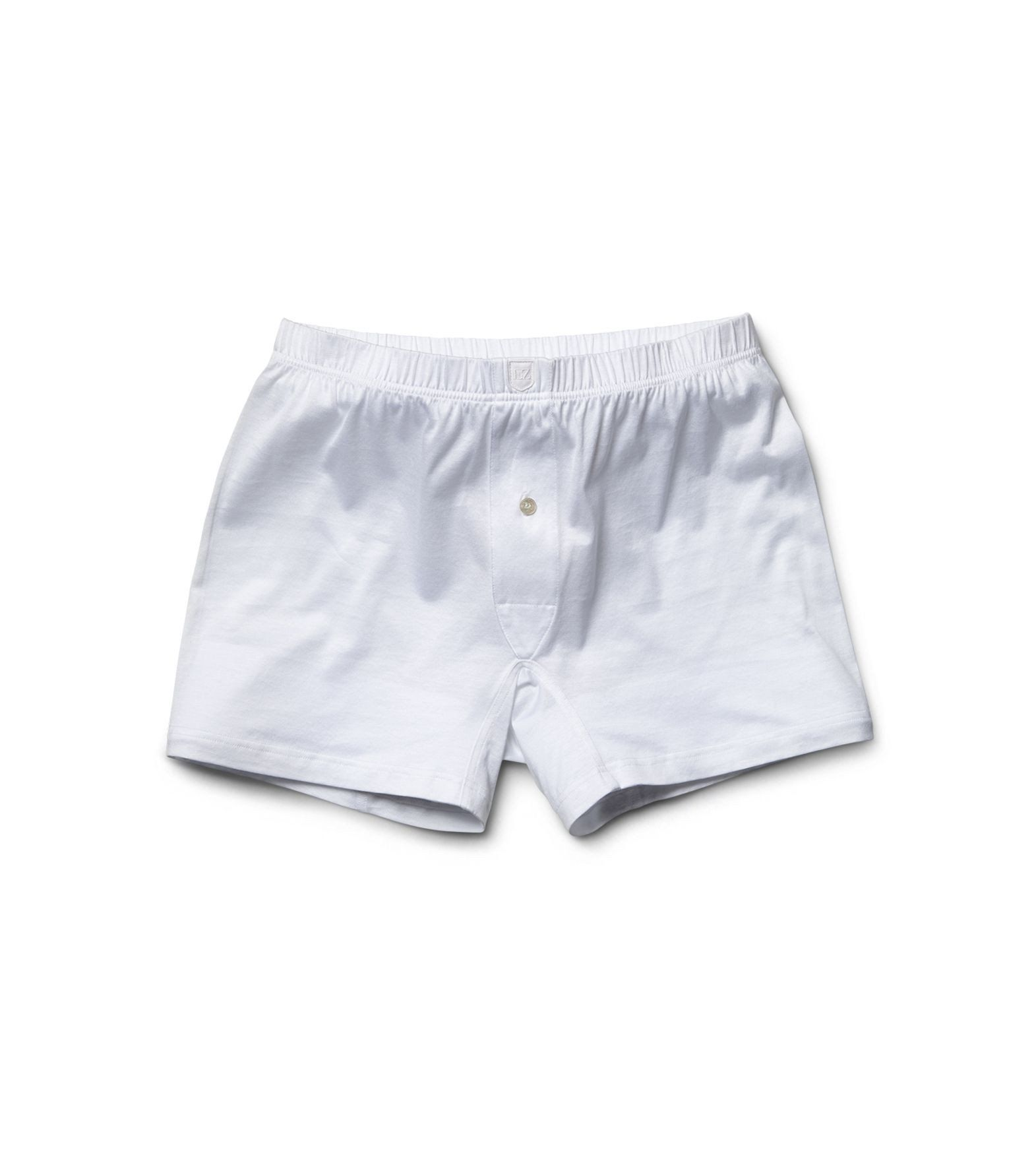White Cotton Boxer Briefs,Underwear,zegna, | GentRow.com