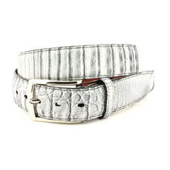 SOUTH AMERICAN CAIMAN BELT - ANTIQUED SMOKED