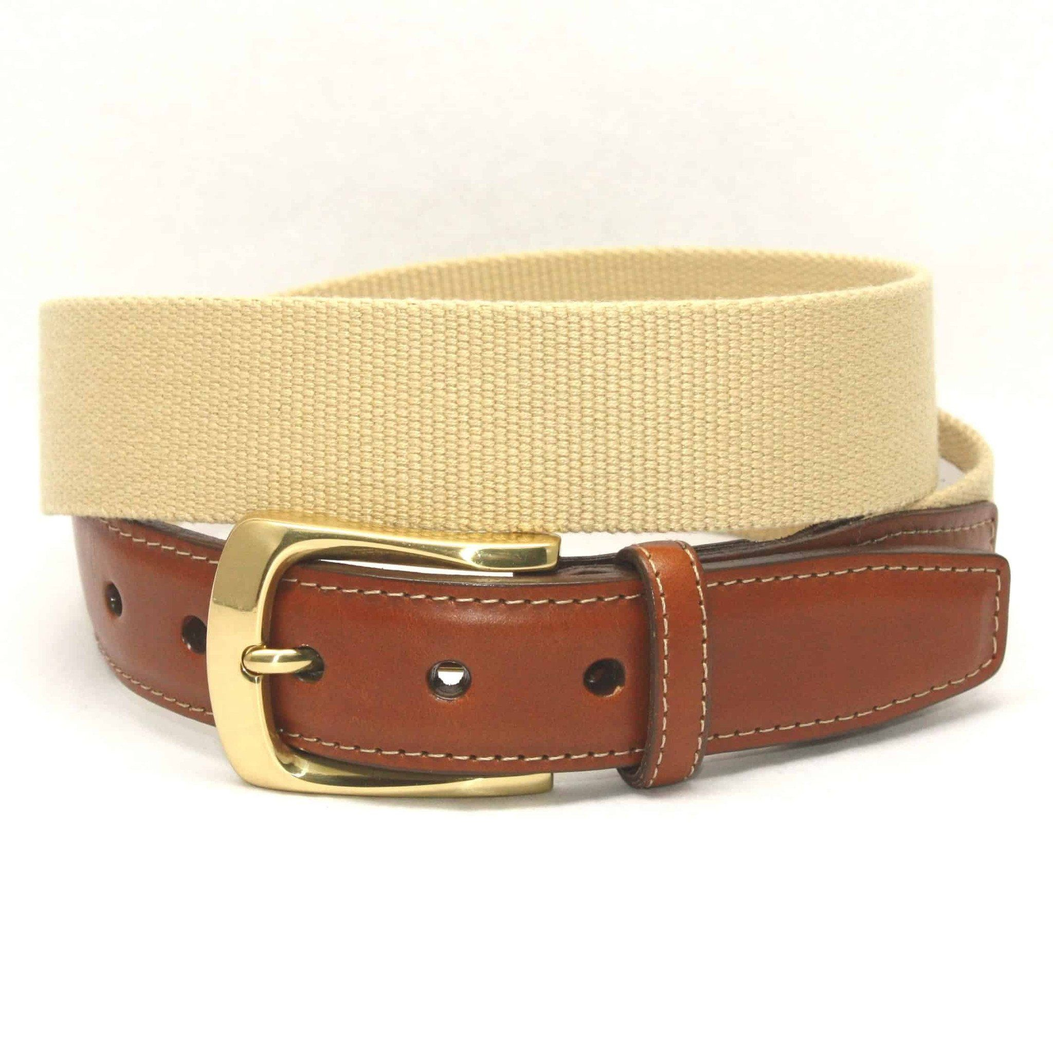 European Ribbed Surcingle Belt - Camel,BELT,GentRow.com, | GentRow.com