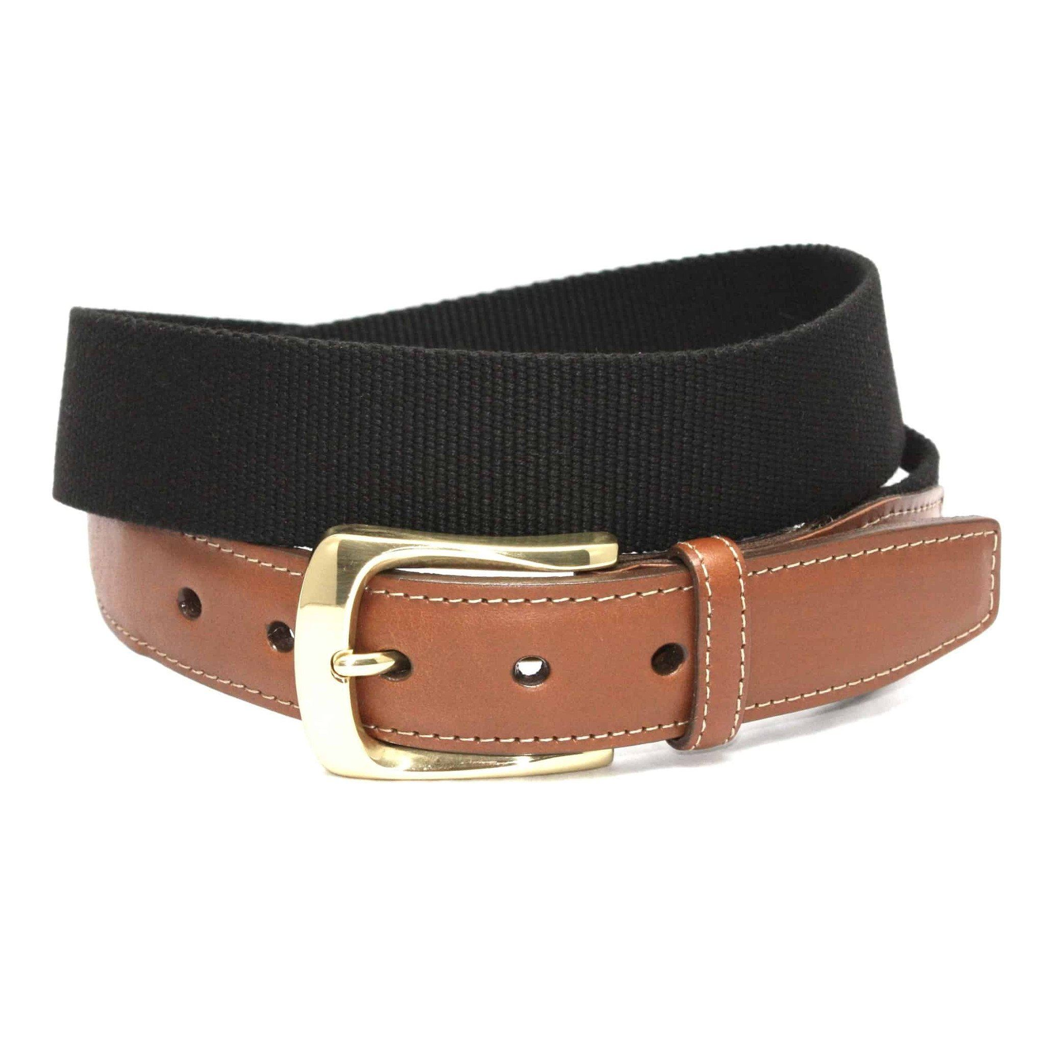 European Ribbed Surcingle Belt - Black,BELT,GentRow.com, | GentRow.com